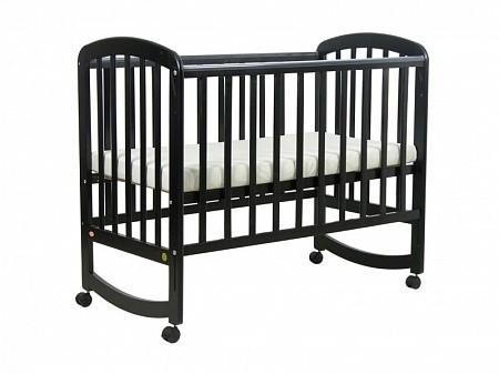 Кроватка для новорожденных Фея 304 (палисандр)