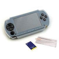 Набор аксессуаров Black Horns PSP Slim 2000/3000 Silicon Glove and Screen Protector