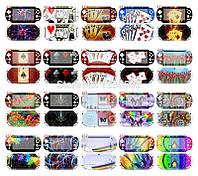 Наклейки на панель PSP Slim 2000/3000, разные