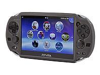 Чехол защитный силиконовый Sony PSP Vita Silicone Case, черный