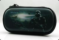 Чехол на молнии с 3D картинкой PSP 1000/2000/3000 3in1 3D picture, Halo 3