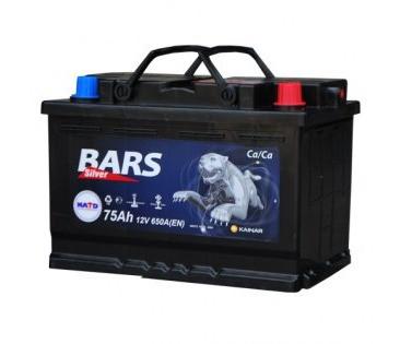 Аккумулятор Bars Silver 75Ah