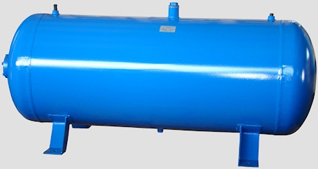 Воздухосборник (ресивер) горизонтальный РГ 900/10