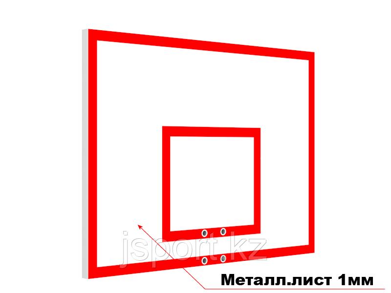 Щит баскетбольный антивандальный 120см*80см