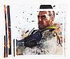 Наклейки на панель Sony PlayStation 3 Slim, разные, PS3 Slim
