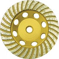 """Диск алмазный шлифовальный, посадочный диаметр 22,2 мм,"""" Турбо"""" 125 мм"""