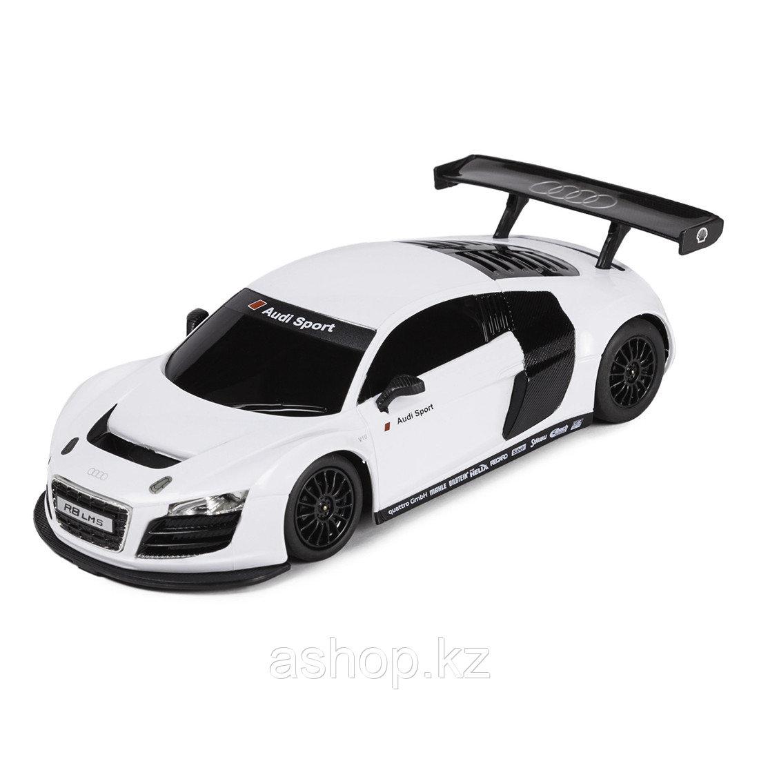 Модель автомобиля коллекционная Rastar AUDI R8, 1:24, Материал: Металл, Цвет: Белый, (56100W)