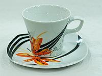 Набор чайных пар 6 персон 12 предм (MZ, Чехия)