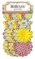 Украшения цветки с лепестками  - это жизнь Bo Bunny