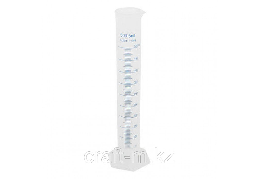Мерный цилиндр 500мл Пластик