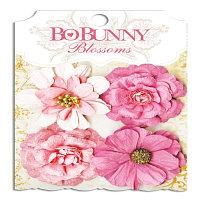 Цветы цинния - румяные Bo Bunny
