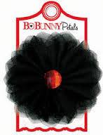 Цветок - секретно смятые лепестки Bo Bunny