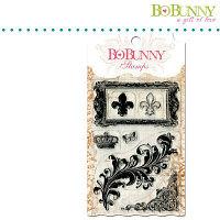 Набор акриловых штампов - Цветение Bo Bunny