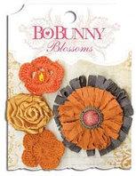 Набор цветов - Далия, оранжевый урожай Bo Bunny