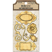 Декоративные деревянные украшения - Elegant Bo Bunny