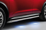 Боковые дуги с подсветкой на Nissan Juke, фото 2