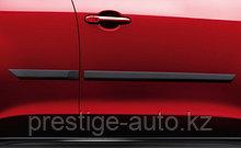 Боковые молдинги на Nissan Juke