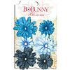 "Набор цветов ""Denim Blue Daisy"" Bo Bunny"