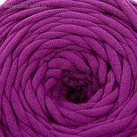 Пряжа трикотажная широкая 50м/160гр, ширина нити 7-9 мм (290 фиолетовый) МИКС