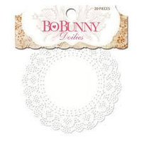 Маленькие кружевные салфетки Bo Bunny