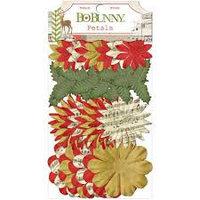 """Набор цветов """"Рождественский коллаж"""" Bo Bunny"""