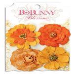 "Набор цветов ""Harvest Orange Zinnia"" Bo Bunny"