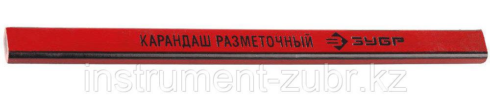 Карандаш ЗУБР разметочный графитный, 180мм, 1шт