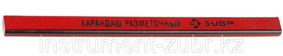 Карандаш ЗУБР разметочный графитный, 180мм, 1шт                                                                         , фото 2