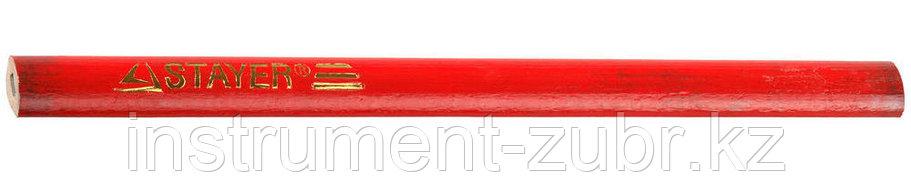 Карандаш STAYER разметочный графитный, 1 шт, 180мм                                                                      , фото 2