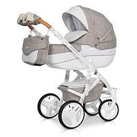 Детская коляска Riko Brano Luxe 3в1 (02 Latte)