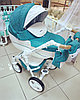 Детская коляска Riko Brano Luxe 3в1 (03 Malachit)
