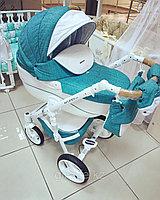 Детская коляска Riko Brano Luxe 3в1 (03 Malachit), фото 1