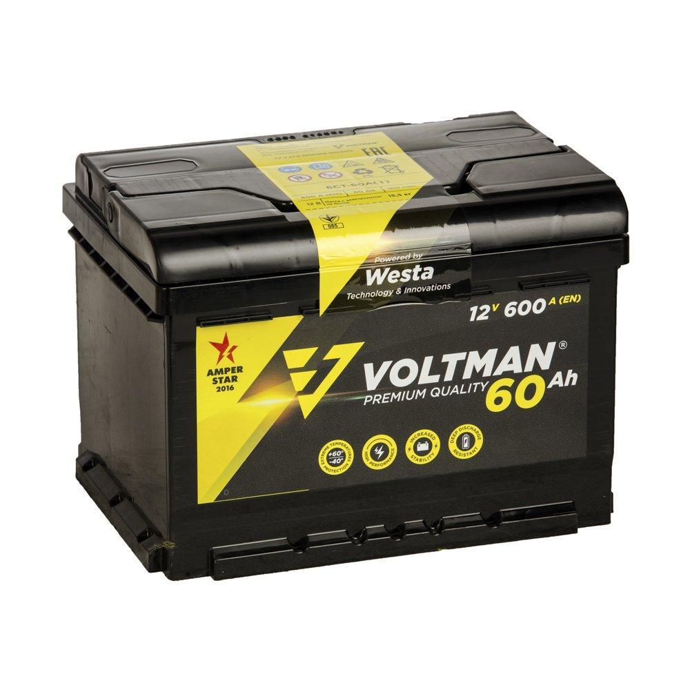 Аккумулятор Voltman 60ah