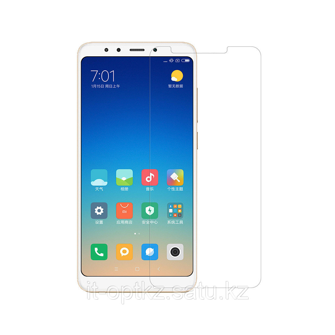 Пленка NILLKIN Redmi 5 Plus (Crystal Screen Protector)