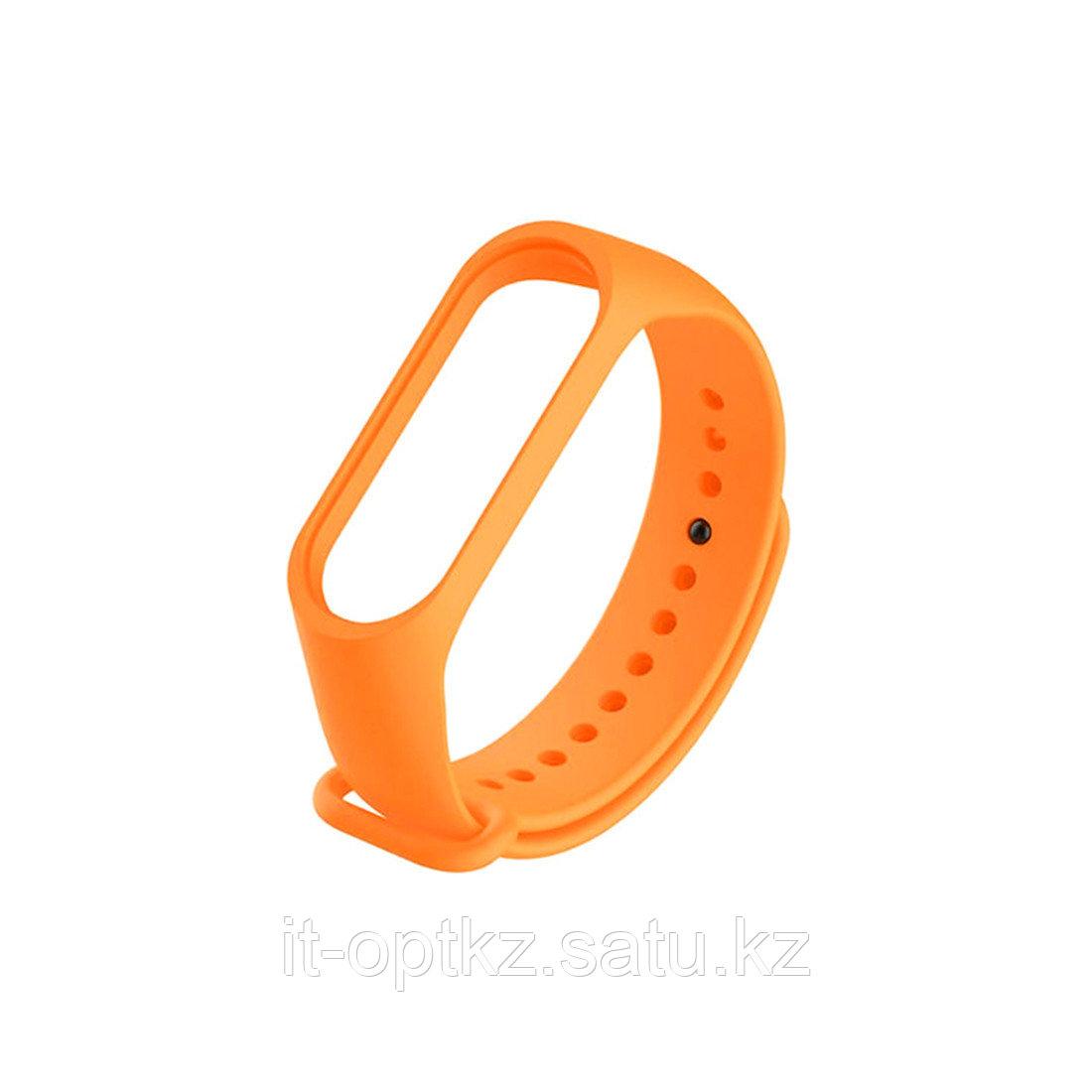 Сменный браслет для Xiaomi Mi Band 3 Оранжевый