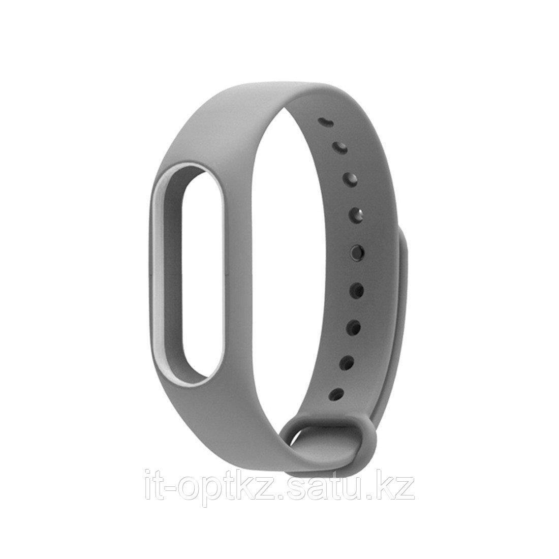 Сменный браслет для Xiaomi Mi Band 2 Серый