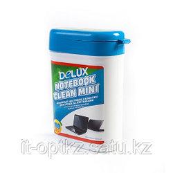 Чистящие салфетки Delux Notebook Clean Mini 100