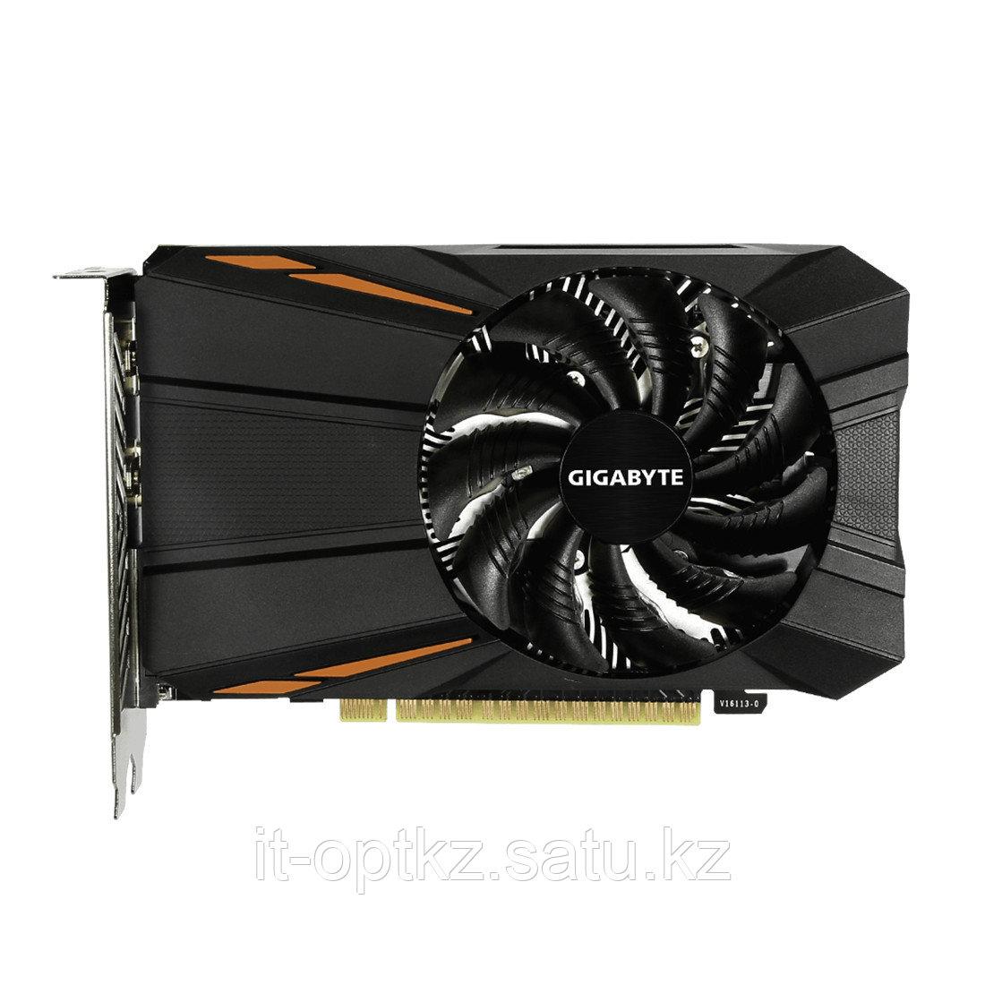 Видеокарта Gigabyte (GV-N105TD5-4GD) GTX1050Ti 4G