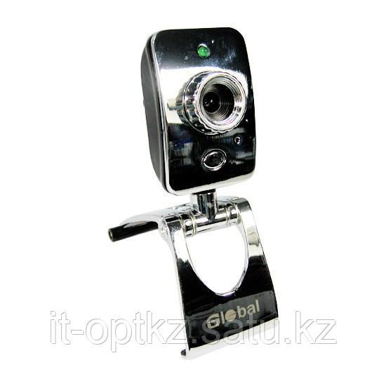 Веб Камера Global S-60 Хромированная