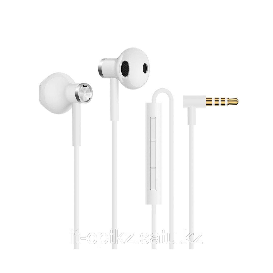 Наушники Xiaomi Mi Dual Driver Earphones Белый