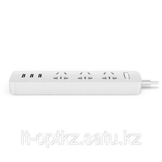 Удлинитель Xiaomi MI (3 розетки+3 USB) Белый