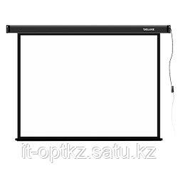 """Экран моторизированный Deluxe DLS-E203х153 (80""""х60""""), Ø - 100"""", Раб. поверхность 195х145 см., 4:3"""