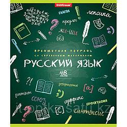 Тетрадь общая ученическая ErichKrause® К доске!, Русский язык, 48 листов, линейка