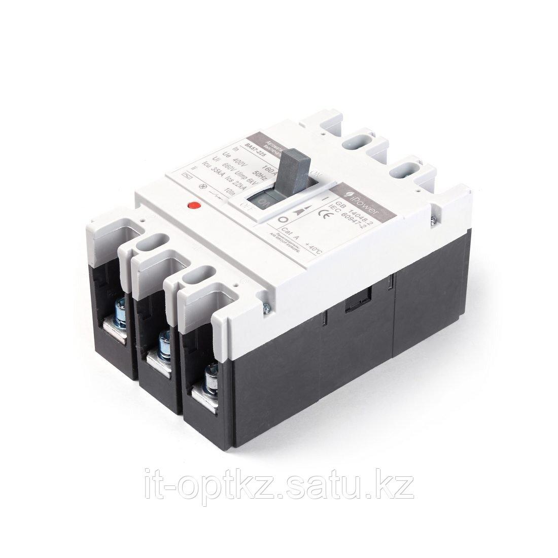 Автоматический выключатель iPower ВА57-225 3P 160A