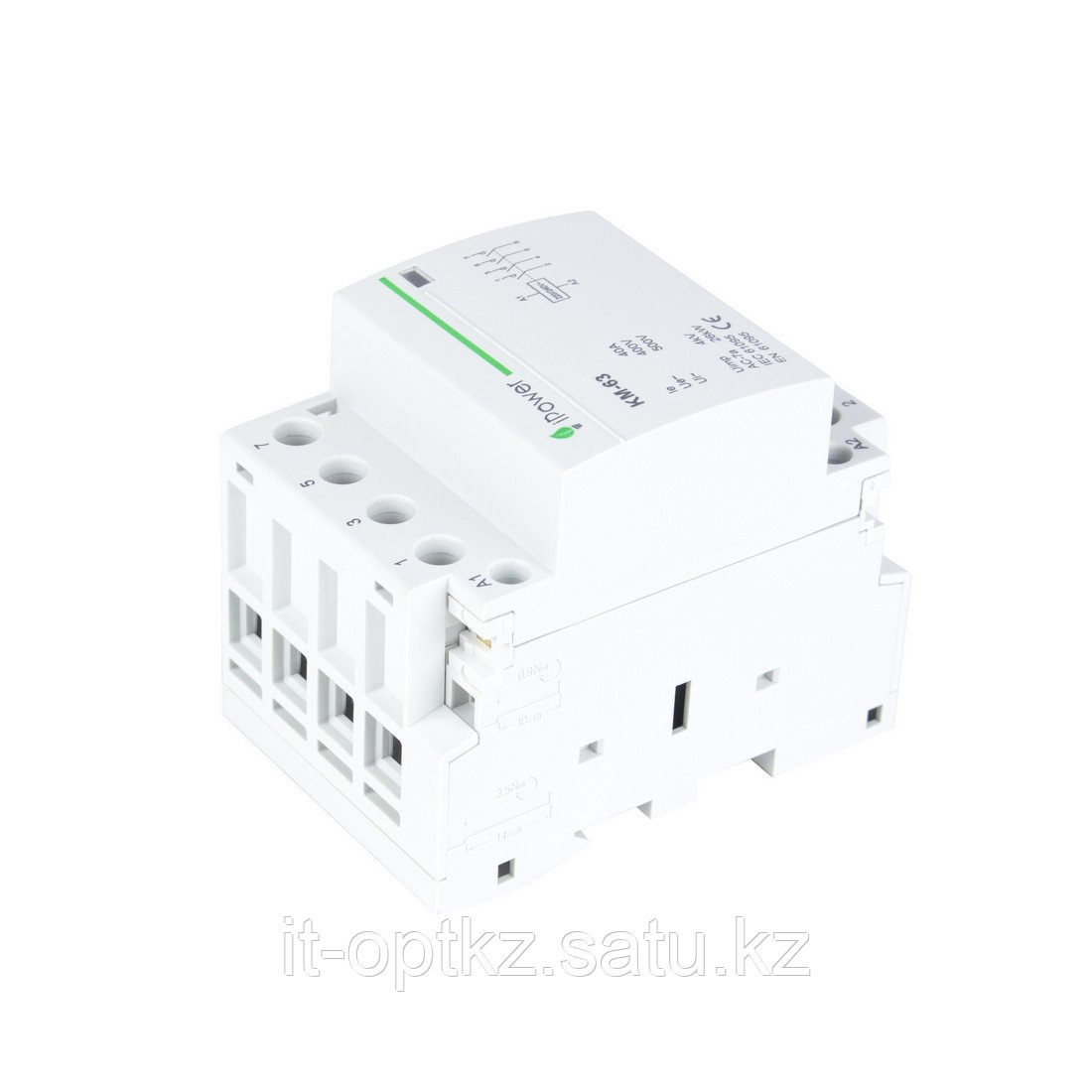 Контактор модульный iPower КМ-63 4Р 40А