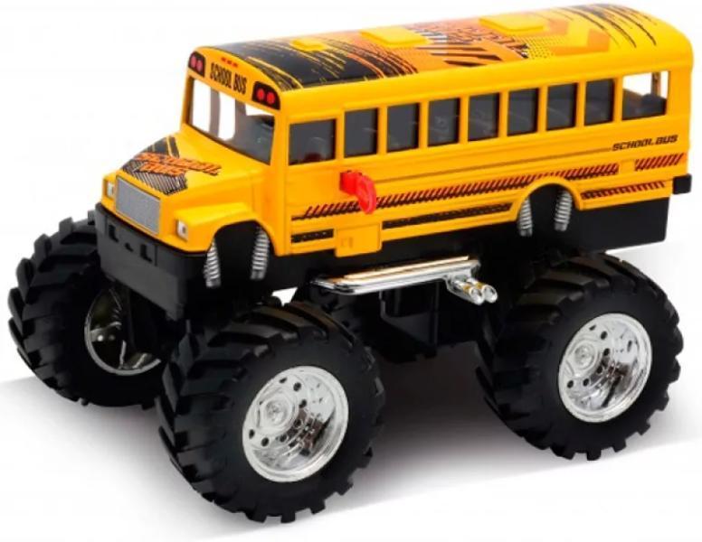 "1/34 Welly Металлическая модель ""Monster Truck"" Школьный Автобус"