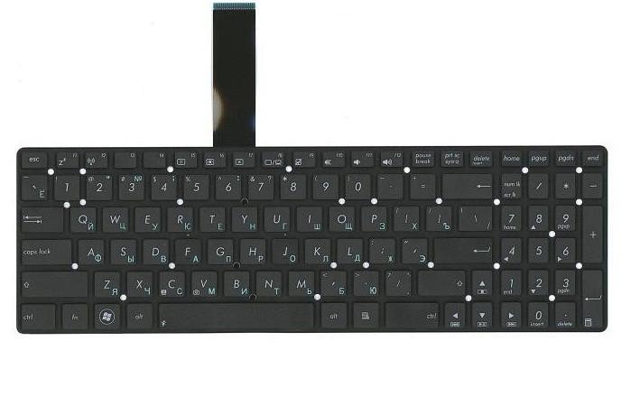 Клавиатура для ноутбука Asus K55A K55D K55DE K55DR K55N K55V K55VD K55VJ K55VM K55VS K55XI