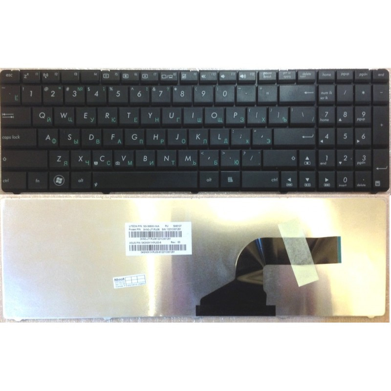 Клавиатура для ноутбука Asus K73BY K73E K73S K73SD K73SJ K73SM K73SV K73T K73TA K73TK