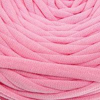 Пряжа трикотажная широкая 50м/160гр, ширина нити 7-9 мм (120 розовый) МИКС