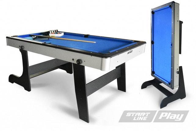 Бильярдный стол складной Компакт 6фт Пул (с комплектом), фото 2
